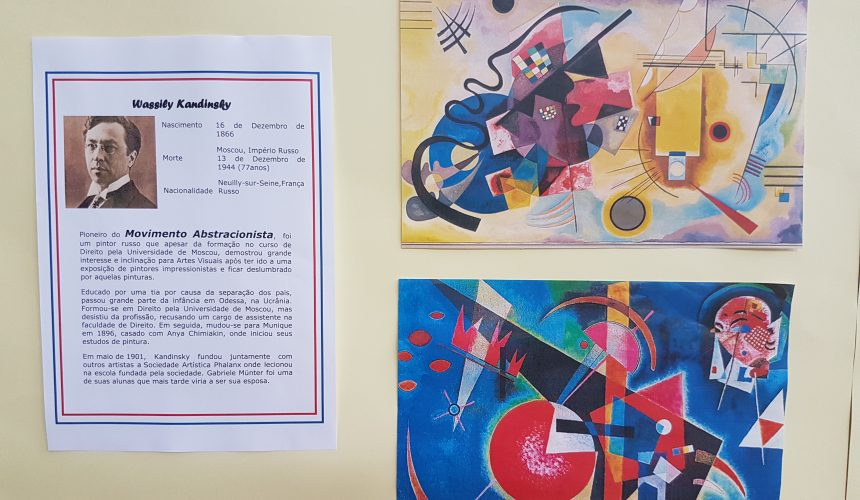 """Kandinsky"" visto pelos alunos"