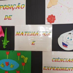 Exposição na EMAM – Matemática e Ciências Experimentais