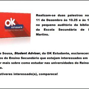 """""""OK Estudante"""" na ESMM"""