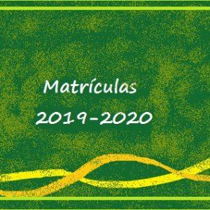 Ano Letivo 2019 – 2020 – Matrículas – 5º, 7º, 8º e 10ºs Anos