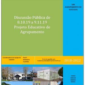 Projeto Educativo de Agrupamento.
