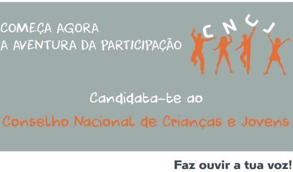 Candidata-te ao Conselho Nacional de Crianças e Jovens. Faz ouvir a tua voz!