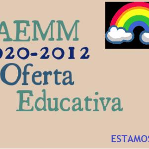 Oferta Educativa 2020 – 2021
